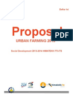 Proposal Urban Farming
