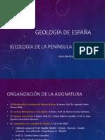 Tema 1 Geologia de España y Macizo Iberico