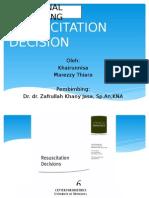 Resuscitation Decision