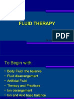 Fluid Therapydr Indra