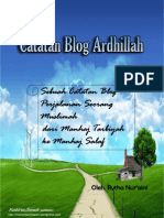 Catatan Blog Ardhillah