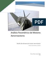 Analisis Parametrico de Aerorreactores