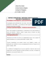 2. Matriz Método Etnográfico - Laura María y Paula Andrea