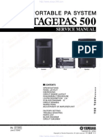 Stagepas 500 Service Manual