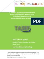 2nd Tanzania Social Entrepreneurship Forum Report