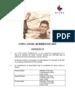 Convocatoria Angel Rodriguez 2015