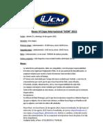 Convocatoria Copa Internacional UCM 2015