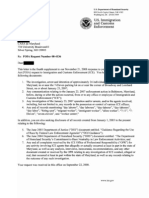 CASA FOIA Request About 7-Eleven Raid - Fourth Supplemental Response Letter (4/2/09)