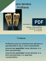 Profilaxia Cariei Dentare