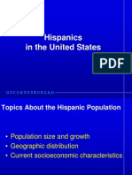 Internet Hispanic in US using the 2006 Census