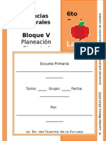 6to Grado - Bloque 5 - Ciencias Naturales