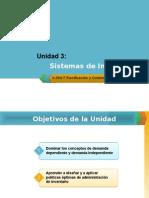 Unidad 3-Sistemas de Inventario