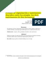 Formas de Organización y Matrimonio Dravídico Entre Los Awajún Los Doce Matrimonios de Diez Hermanos