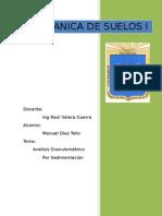 informe analisis granulometrico
