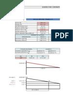 Excel para diseño por cortantes de vigas