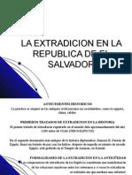 La Extradicion en La Republica Del Salvador (POWER POINT)