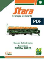 Manua de Intruções Stara Prima Super