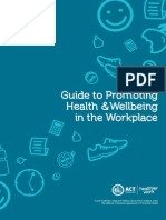 Guide to Promoting Health and Wellbeing in the Workplace