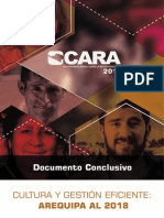 CARA 2014 - Documento Conclusivo