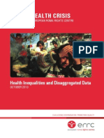Hidden Health Crisis 31 October 2013