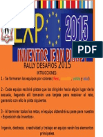 Instrucciones Rally