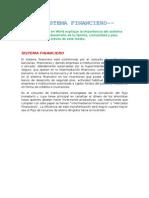 El Sistema Financiero Peruano Aleo