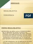 Tema 2. Anemias Por Trastornos de Producción, Anemia Ferropenica, Diagnóstico Diferencial, Anemia Megaloblástica - Dra. Nilda Iriarte