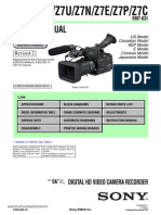 SONY HVR Z7 Camera Ver 1.5 Rev-2