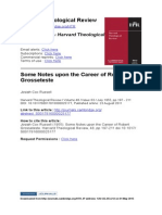 Harvard Theological Review Volume 48 issue 03 1955 [doi 10.1017%2FS0017816000025177] Russell, Josiah Cox -- Some Notes upon the Career of Robert Grosseteste.pdf