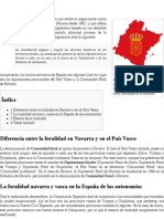 Comunidad Foral - Wikipedia, La Enciclopedia Libre