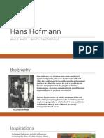 Who's who? - Hans Hofmann