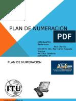 Plan de Numeracion