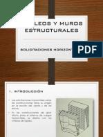 NÚCLEOS Y MUROS ESTRUCTURALES