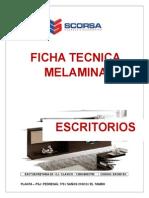 Ficha Tecnica Melamina