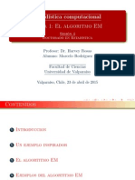 Algorithms EM