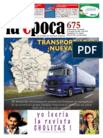 Nº 675 - Especial Transporte - Junio 2015