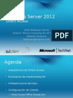 Webcast Windows Server 2012 Direct Access 10-08-14