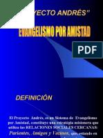 EVANGELISMO PROYECTO ANDRES