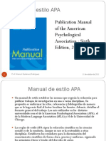 Manual de Estilo APA PPT
