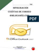 Configuracion Cuentas de Correo @Ms.huawei.com