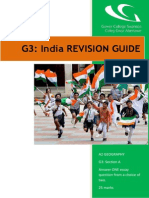 INDIA Revision Booklet