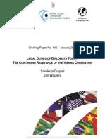 Relevance of Vienna Convention