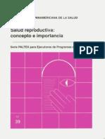 Salud Reproductiva Concepto e Importancia
