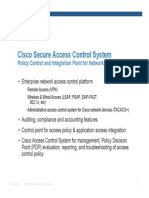 Cisco ACS Overview