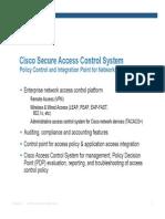Cisco ACS Overview