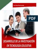 Desarrollo de La Investigación en Tecnología Educativa Trabajo Final