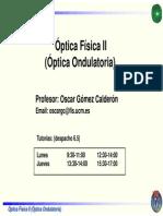 OpticaFisicaII Introduccion Oscar