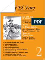 Revista El Faro Nro 2