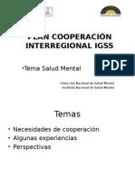 Cooperaracion Interregional Salud Mental