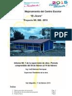 Proyecto de Mejoramiento Del Centro Escolar